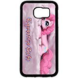 Samsung Galaxy S6 TV Cartoon Cell Cover Cute Pink Pinkie Pie My Little Pony Phone Case Cover For Samsung Galaxy S6