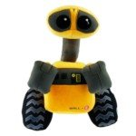 Cute Stuffed Plush Wall E Design Doll Toy Gift for Kids