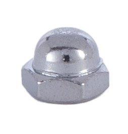 B&P Lamp Nickel Cap Nut 8/32 (Lamp Nut)