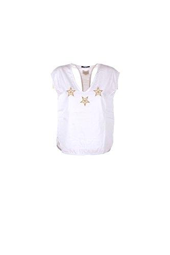 T-shirt Donna Shiki L Bianco 17esk34289 1/7 Primavera Estate 2017