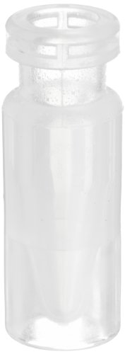 National Scientific Virgin Polypropylene Crimp MicroVial, 800µl Capacity (Case of 1000) by National Scientific