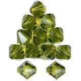 Swarovski Crystal Bicone 5301 5mm OLIVINE Beads (36) 523288