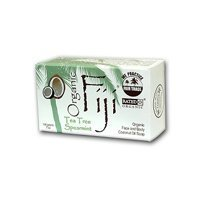 - Tea Tree Spearmint Nourishing Cleanser for Face and Body 240gram Bar - 100 Percent Certified Organic Coconut Oil Soap ( Multi-Pack) by ORGANIC FIJI