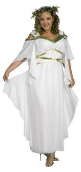 Roman Goddess Costume - Plus Size - Dress Size 16-20 (Plus Size Greek Goddess Costume)