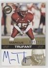 Marcus Trufant #/100 (Football Card) 2003 Press Pass - Autographs - Gold #MATR