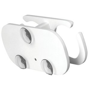 Taco Metals TACO 2-Drink Poly Cup Holder w/Suction Cup Mounts - White