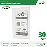 Zvac Kenmore Style C/Q Micro Filtration Canister Cloth Vacuum...