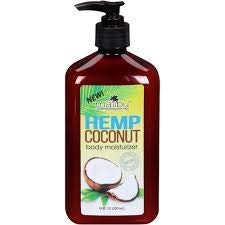 NEW Malibu Tan Hemp Coconut Body Moisturizer 18 FL OZ (530 ml) - 1-PACK