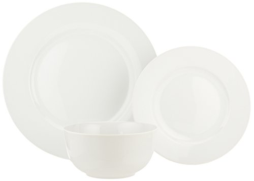 AmazonBasics 18-Piece Dinnerware Set, Service for 6 by AmazonBasics (Image #5)