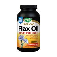 Flax Oil 1300mg 200 SFG by Nature's Way