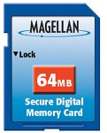 : Magellan 64MB Secure Digital Memory Card