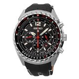 Seiko - Prospex - Men's Chronograph Solar Leather - 46mm - SSC289
