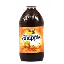 (Snapple Peach Ice Tea 64 oz (Pack of 8))