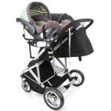 - StrollAir Universal Car Seat Adapter High for My Duo Stroller, Black