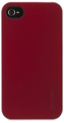 Griffin GB03181 iPhone 4/4S Outfit Ice Case - 1 Pack - Retail Packaging - Red (Apple Iphone 3g Ice)