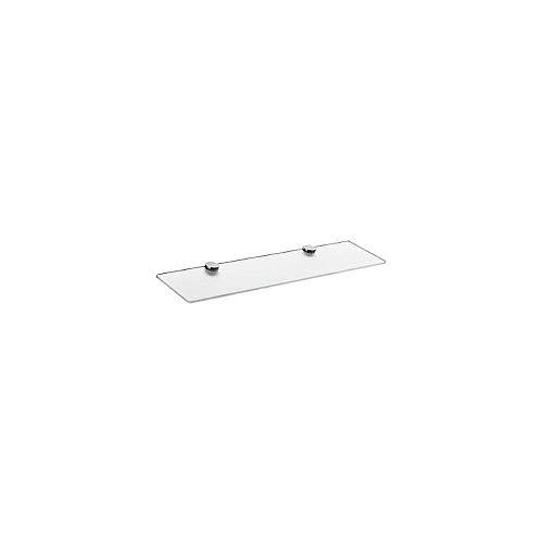 - Axor 41550000 Citterio 24-3/4-in Glass Shelf, Chrome