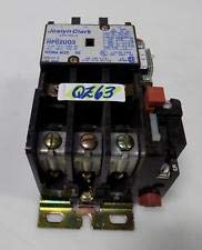 HP02U03-26 Joslyn Clark Type HP Starter;Size 00;Max HP Rating 3ph 200 V 1 1/2 HP;Open typwe 230V 1 1/2HP;460-575v 2HP;Coil: 208-240V;50\60HZ