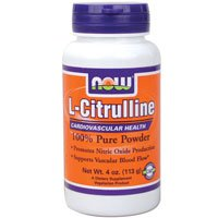 海外直送品Now Foods Citrulline, 4 Oz (Pack of 3) B0041UG34C
