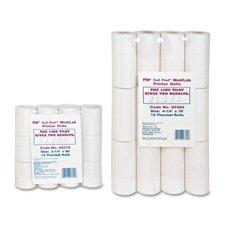 Thermal Print Med/Lab Rolls, 4-1/4