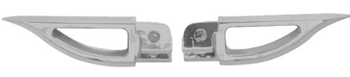 Yana Shiki A4289 Silver Rear Blade Style Foot Pegs for Su...