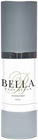 Bella Gold Breakthrough Anti Aging Serum- Best Natural Repair Under Eye Treatment Serum -Minimize Fine Lines and Wrinkles -Fight Signs of Aging