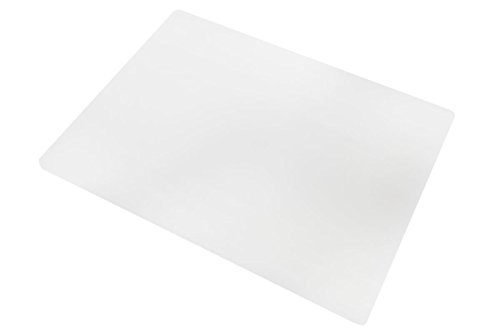 Professional Plastic Cutting Board, HDPE Poly for Restaurants, Dishwasher Safe and BPA Free (20 x 15 x 1/2, White)