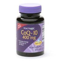 Natrol Co-Q10 400mg-30 Soft Gels