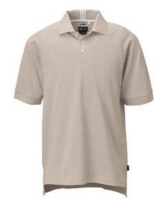 adidas Golf Men'S Climalite Pique Polo, Ecru/White, 2Xl