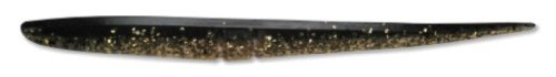 (Lunker City Slug-Go Lure, 10 per Bag (Gold Pepper Shiner, 6-Inch))