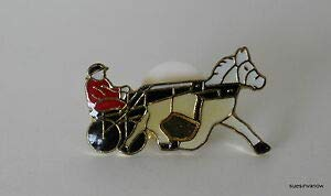 Horse Lapel Pin Harness Running Horse Lapel Hat Pin Tie Tack Bet Quality Handcrafts Accessories for Clothes Decoration Sulky Driver /&