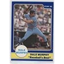 Dale Murphy (Baseball Card) 1986 Star Dale Murphy Baseball's Best Panel Set - [Base] - Separated From Panel #DMPS