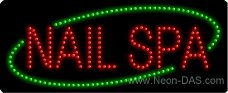 Spa Outdoor Led Sign - 5
