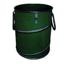 Spring Line Collapsible Trash Can Container For Lawn Garden Camping And Storage