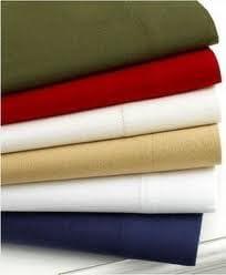Amazon Com Martha Stewart Flannel Sheet Set Cal King Navy Home Kitchen