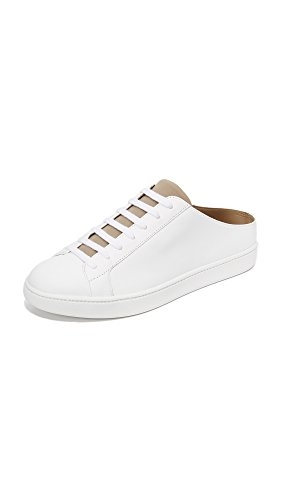 Vince Women's Leather White Varley White Sneaker Fashion S0Uvn08xR