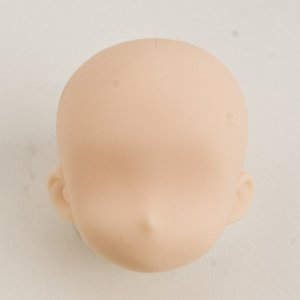 Scale Head (1/6 scale Obitsu 11cm infant head 11HD-D01W White skin)