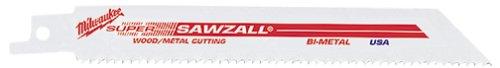 MILWAUKEE Super SAWZALL Blade 10T 6in Length (50PK) Part # 48-01-6092