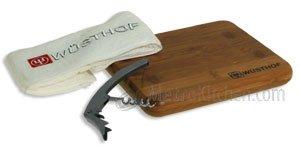 Wusthof 3-Piece Bar Tool and Cutting Board - Corkscrew Wusthof