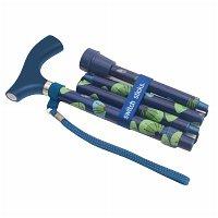 Switch Sticks Folding Walking Cane Sea Breeze by Switch Sticks