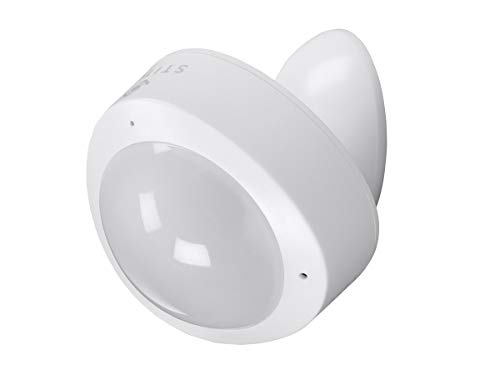 Monoprice Wireless Smart PIR Motion Sensor and Vibration Sensor - White | No Hub Required – From STITCH Smart Home Collection