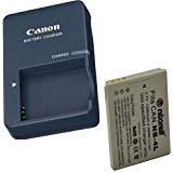 Canon CB-2LV Charger for Canon NB-4L Li-ion Battery Compatible with Canon PowerShot SD40 SD30 SD200 SD300 SD400 SD430 SD450 SD600 SD630 + Bonus - Sd30 Canon Powershot