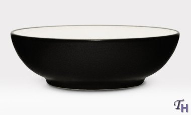 Noritake Colorware Soup/Cereal Bowl, Graphite Noritake Colorwave Graphite Cereal