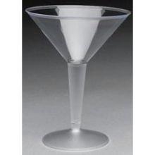 Royal Plasticware Elite Stemware Clear Martini Glass, 8 Ounce - 12 per pack - 10 packs per (Royal Stemware)
