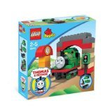 LEGO Duplo Percy at the Sheds