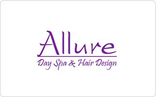 Allure Day Spa & Hair Design Gift Card ($50)