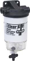 Moeller Clear Site Water Separating Fuel Filter System for outboard Motors (3/8