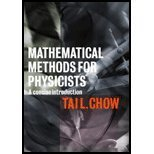 Mathematical Methods for Physicists : Solution, Chow, Tai L., 0521786649