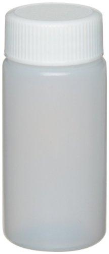 Wheaton 986700 HDPE 20mL Liquid Scintillation Vial, with Polypropylene Foamed Polyethylene Lined Screw Cap Attached (Case of (Polyethylene Lined Cap)