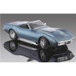 Revell 69 Corvette Convertible - Blue 1:18