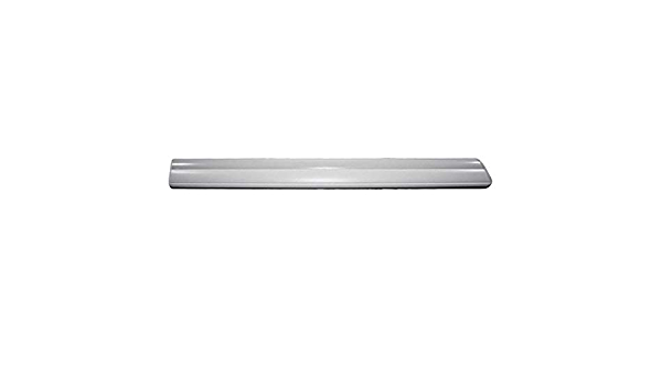1999-2002 Chevy Silverado Pickup Passenger side front door Trim Molding With Chrome insert Part is Molded White and can easily be painted to match Auto Tech Plastics BPG-059